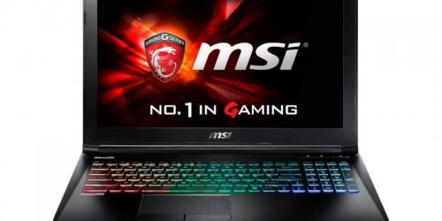 MSI GE72 6QD-801XTR i7 6700-17.3-8G-1T 128S-4G-Dos