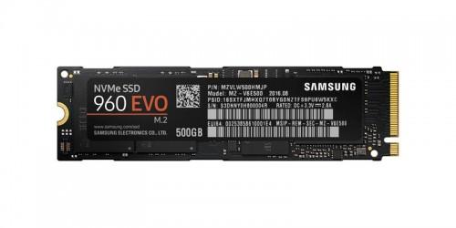 Samsung 500GB 960 Evo NVMe M.2 MZ-V6E500BW