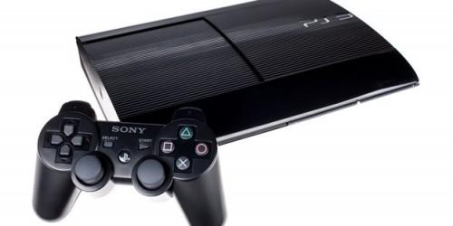 PS3 SUPER SLIM 120GB OYUNLU